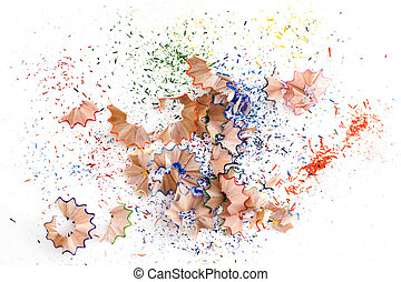 Debris from pencils