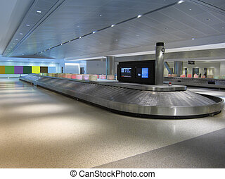Baggage claim - Baggage carousel at Houston airport
