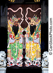 Chinese Clan House Doors - Amazingly attractive and...