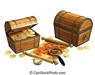 pirate, carte