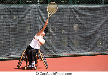 Wheel Chair Tennis for Disabled