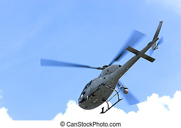 Television Helicopter - Helicopter that provided television...