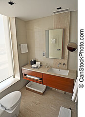 Modern Bathroom - Picture of modern and trendy bathroom,...