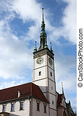 Church of Olomouc, Czech Republic - In the center of...