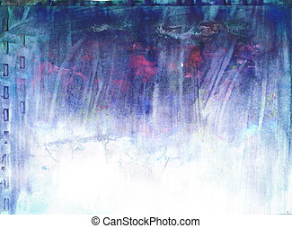 abstract background painting with acrylics and mix media...