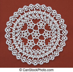 Lace doily House decoration item Ornate decor