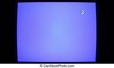 white noise - old TV screen CRT