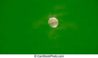 Moon Chroma Key FX Super Moon onto your video change place...