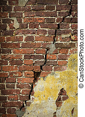 grunge brick wall - grunge wall, highly detailed textured...