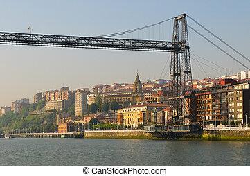 Puente Colgante or Vizcaya Bridge, Spain