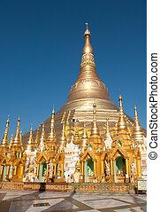 Shwedagon pagoda, Yangon, Myanmar