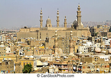 Madrasa of Sultan Hassan in old city Cairo