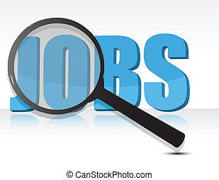 Looking for jobs - looking for jobs concept illustration...