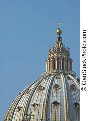 Dome of St. Peter's Basilica, Rome, Italy