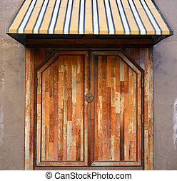 Doorway and Awning