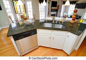 Kitchen Sink - Island Kitchen sink