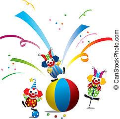 circus's clown - circus's 3 clown