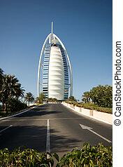 Burj al Arab Hotel, Dubai - The luxury seven-star Burj al...