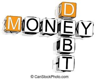 Debt Money Crossword