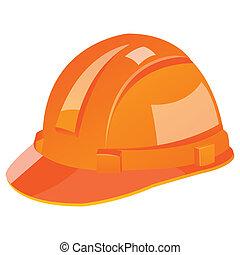 under construction helmet - illustration of under...