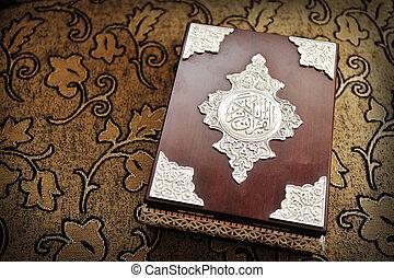 koran, święty, książka