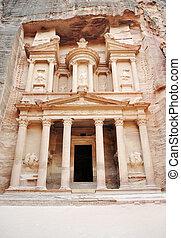Petra, The imposing Monastery in Petra, Jordan