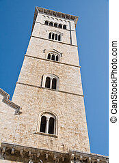Belltower Cathedral. Trani. Apulia.