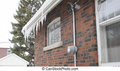 Winter house with hydro meter. - Winter house with hydro...