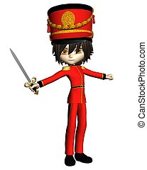 Nutcracker Prince - Prince or toy soldier from the Christmas...