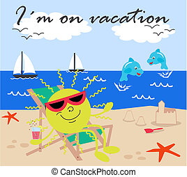 vacation - I?m on vacation