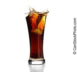 beverage splash