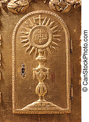 Divine presence - Divine presence Door of the vintage gold...