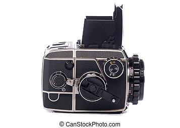 Vintage medium format camera