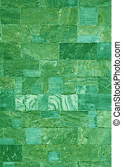 green marble tiles texture
