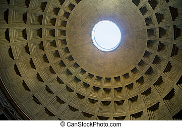 Dome of Pantheon, Rome, Italy