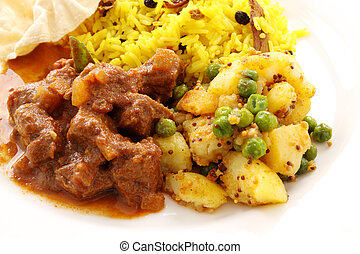 Indian Beef Curry - Delicious and spicy Indian beef curry...