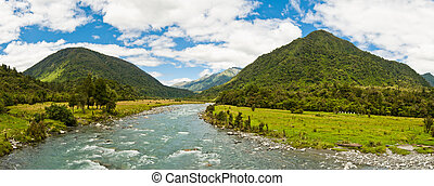 Panorama of a river