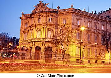 Palacio de Lineares in Madrid - Palacio de Lineares in...