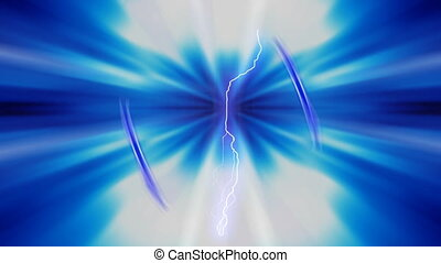 Blue Turbulence - Blue turbulence motion background