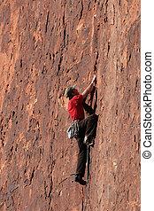 岩石, 登山運動員