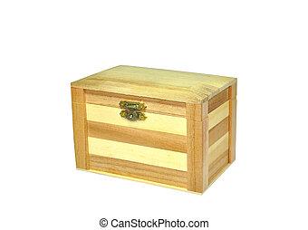 Treasure Box - a wooden Treasure Box