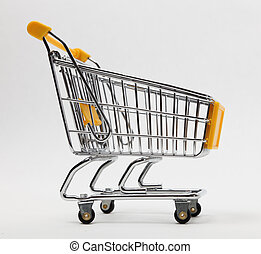 Empty shopping cart - Image of an empty shopping cart...