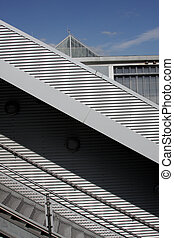 modern building - Modern buildings, shapes lines of the...