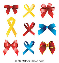 gift,ribbon set
