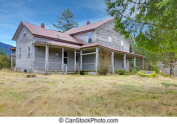Very old rustic american country house - Build in 1907 diary...