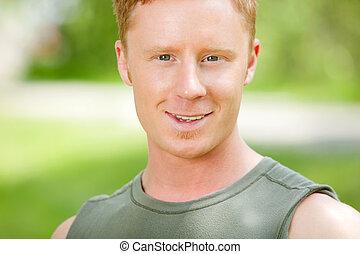 Portrait of a Caucasian man