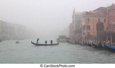 Sail - channel near gondola station - Sail on channel near...
