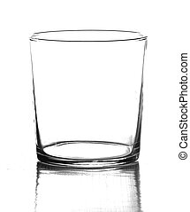 classic glass isolated on a white background