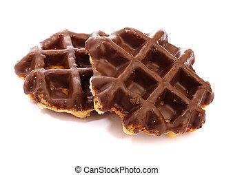 choco waffle