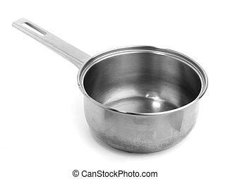 metal saucepan